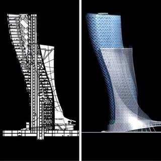 struktur gedung