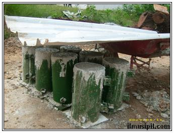 sample tes beton