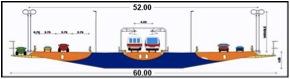 ukuran jembatan selat sunda