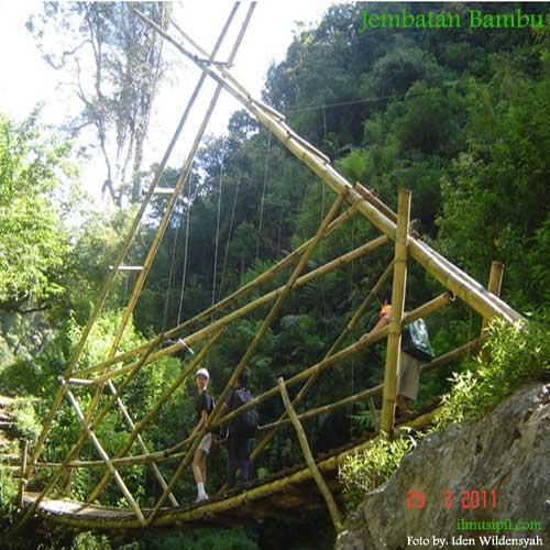 jenis jembatan bambu dalam kehidupan