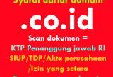 syarat daftar domain .co.id