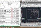 satu layar monitor untuk dua software